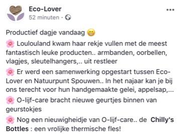Olijfcare Ecolover Bilzen