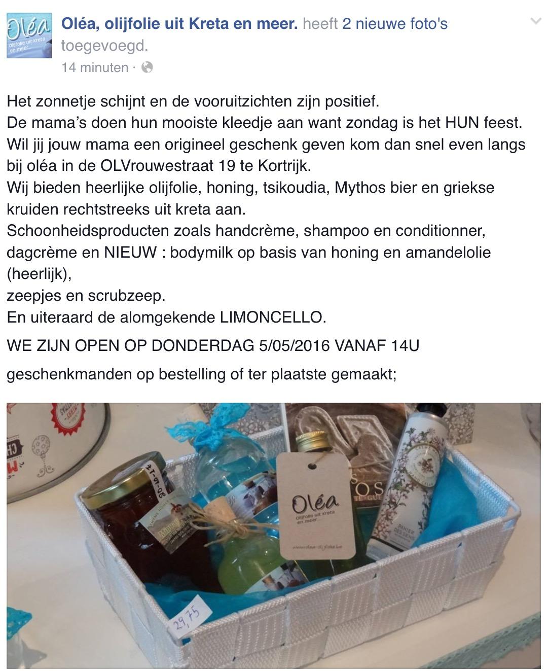 Olijfcare Olea Kortrijk