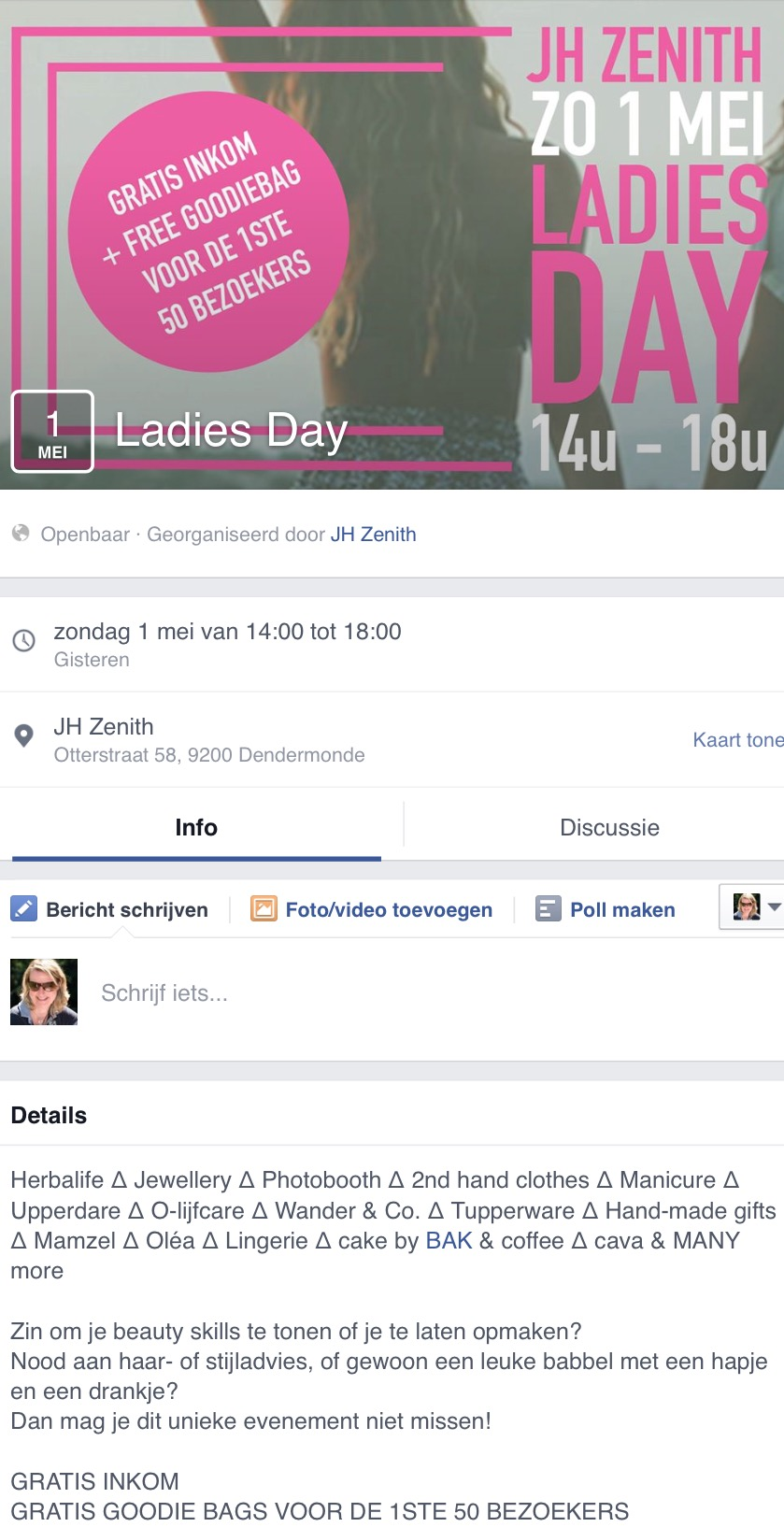 Olijfcare Ladies Afternoon Dendermonde