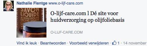 Olijfcare ZekerVanHaarZaak