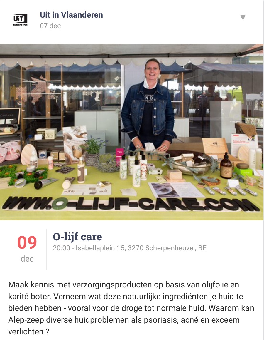 Olijfcare Markant Zcherpenheuvel