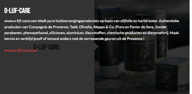 Olijfcare De Vitrine