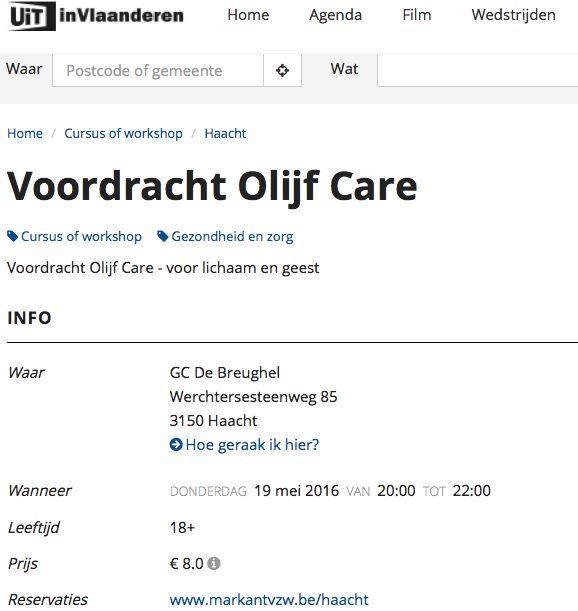 Olijfcare Markant Haacht