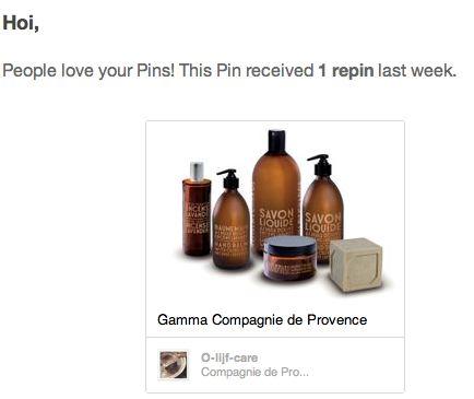 Olijfcare Pinterest