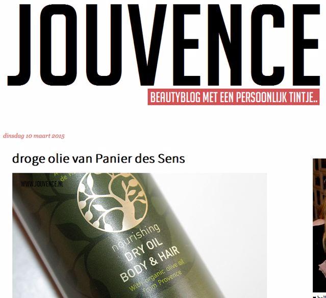 Review Droge Olie Panier des Sens Jouvence