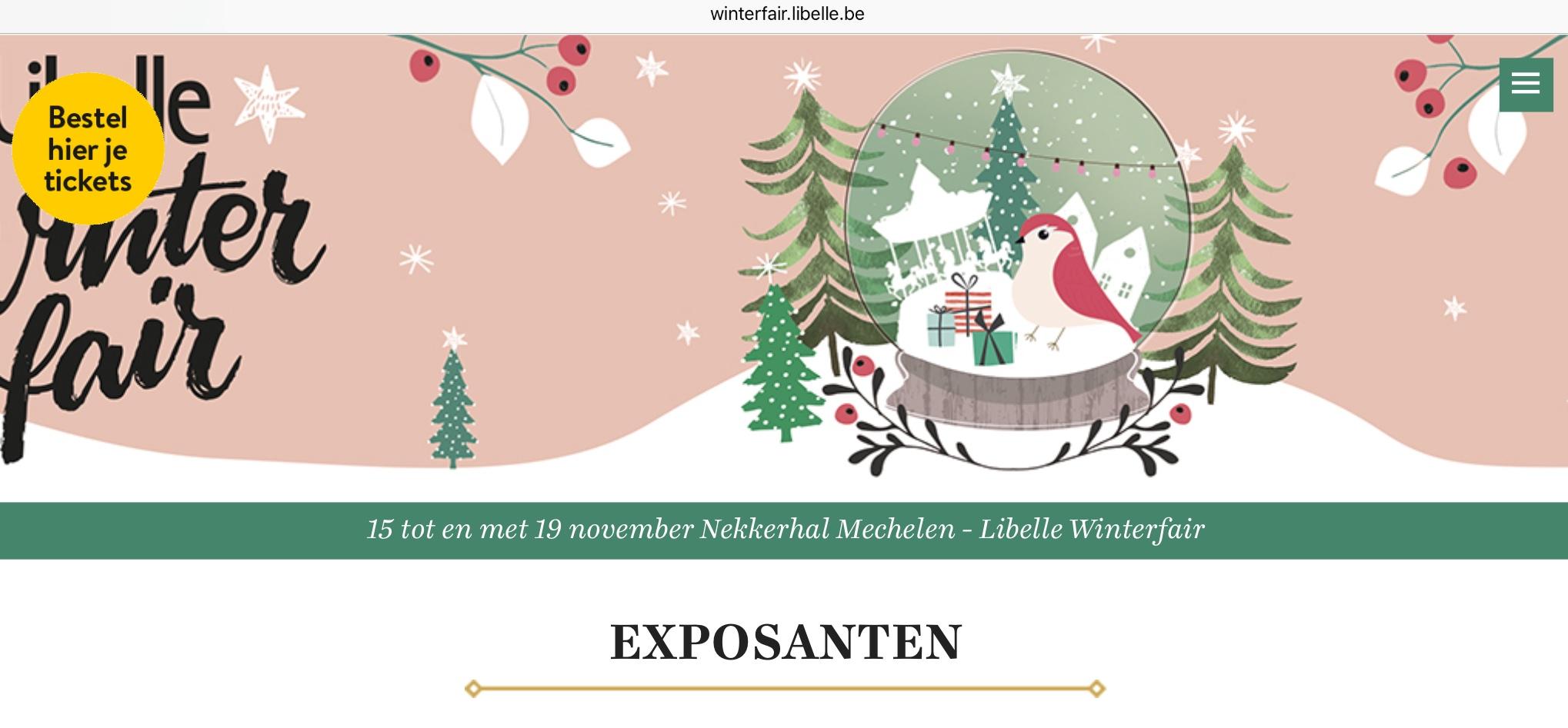 Olijfcare De Libelle Winterfair