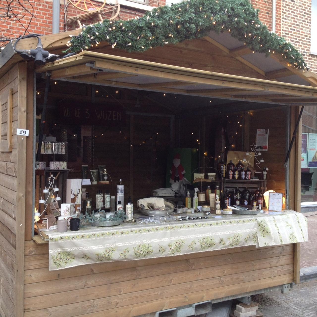 Olijfcare Kerstmarkt Grimbergen