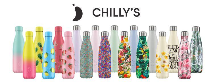 Chilly's Bottles met print motief