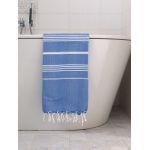 Hamamdoek Grieksblauw Ottomania 170 x 100 cm
