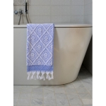 Turkse handdoek grieksblauw 100 x 50 cm ottomania