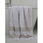 Turkse handdoek olijfgroen 180 x 100 cm ottomania