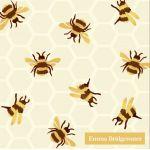 Servetten Ihr Hommels Emma Bridgewater 16 x 16 cm