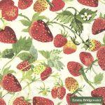 Servetten Ihr Aardbeien Emma Bridgewater 16 x 16 cm