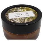 Tadé Zwarte Hammam zeep laurierbesolie rode klei 140 gram