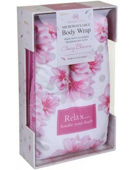 body wrap Cherry Blossom Aroma Home met doos