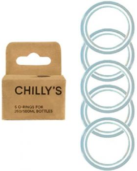 Chilly's Bottle Box 5 x O-Ring voor 260 & 500 ml