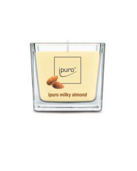 Geurkaars Milky Almond Ipuro 125 g