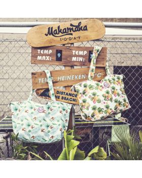 Shopper Strandtas Ananas All Time Favourites sfeer