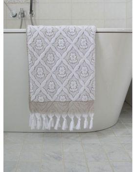 Turkse handdoek olijfgroen 140 x 70 cm ottomania